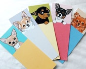 Chihuahua Bookmarks - Eco-friendly Set of 5