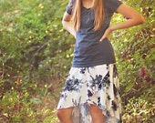 Girl's Calla Lily Skirt   (NB-18 Tween) Downloadable .PDF Sewing Pattern & E-Book