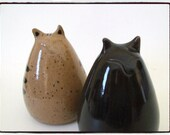 My Big Fat Cat Salt and Pepper Shakers Set by misunrie