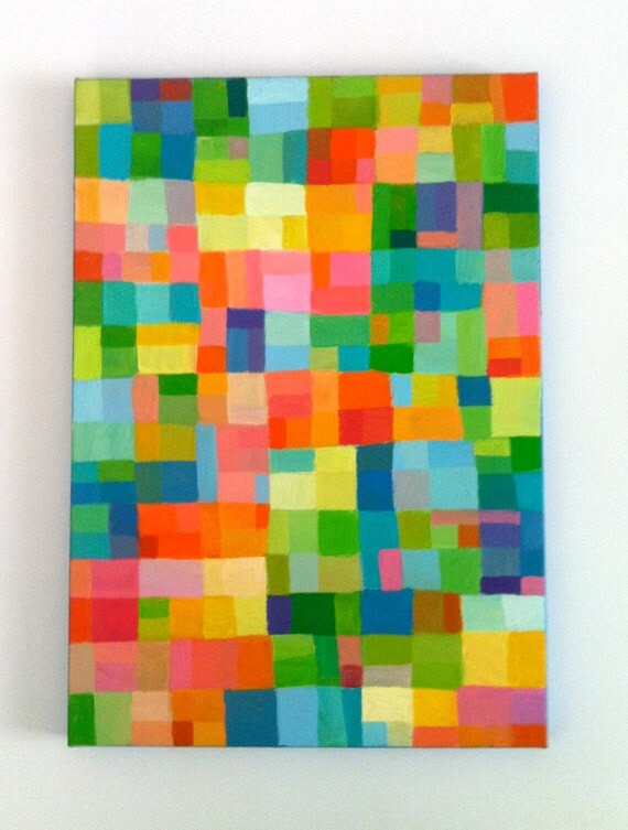 peinture abstraite original peinture g om trique des