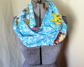 MOVING SALE Pokemon Pocket Monsters Infinity Scarf