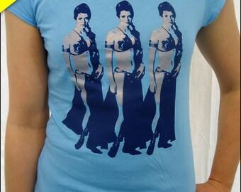 10 Dollar Sale--Three Leias Womens Tshirt
