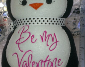 Penguin Stuffed Animal for your Valentine