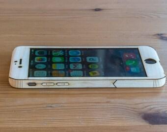 Maple iPhone 6 / 6S Wrap - Wood iPhone 6 Case - Single-Piece Wrap - Sleek Style
