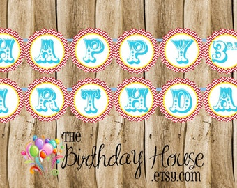 Big Top Circus - Personalized Birthday Party Banner by The Birthday House