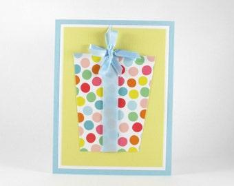 Birthday card, girls birthday card, childrens birthday, birthday present, gift