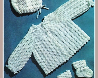 Free Crochet Hat Patterns Nz : PDF Crochet Pattern / Shawl Dress Bonnet / by ...