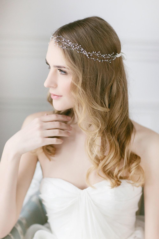 Wedding Hair Vine Pearl Accessories
