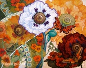 the floral tapestry