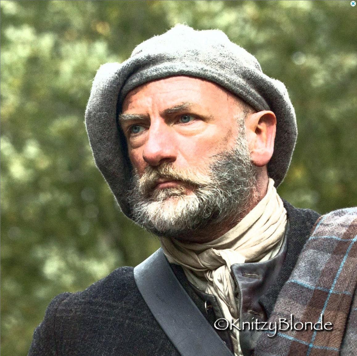 Knitting Pattern Mens Beret : Hand Knit Felted Outlander Tam Scottish Bonnet Highlands