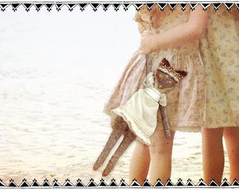Valentina Fox artisan rag doll LE