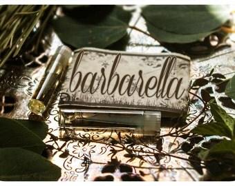barbarella - natural perfume oil mini sampler - 2 vials o' joy - primary notes: coconut and pina colada