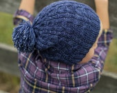 make your own Luca Slouch Hat (DIGITAL KNITTING PATTERN)