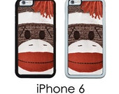 iPhone 6S 6 PLUS Sock Monkey Sock Monkey Vintage Toy Trim Choice Plastic Rubber or Mighty Case