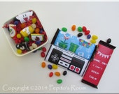 Print-INK Super Mario Bros. A La Carte Candy Bar Wraps / Mini Wraps / Hershey's Labels - Editable DIY Digital Printable PDF