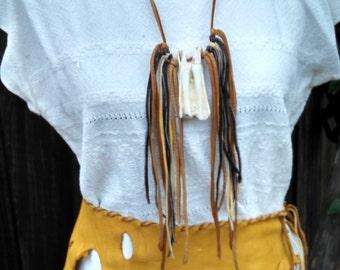 Buckskin Ceremonial Belt