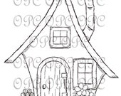 Digital Stamp Home Sweet Home