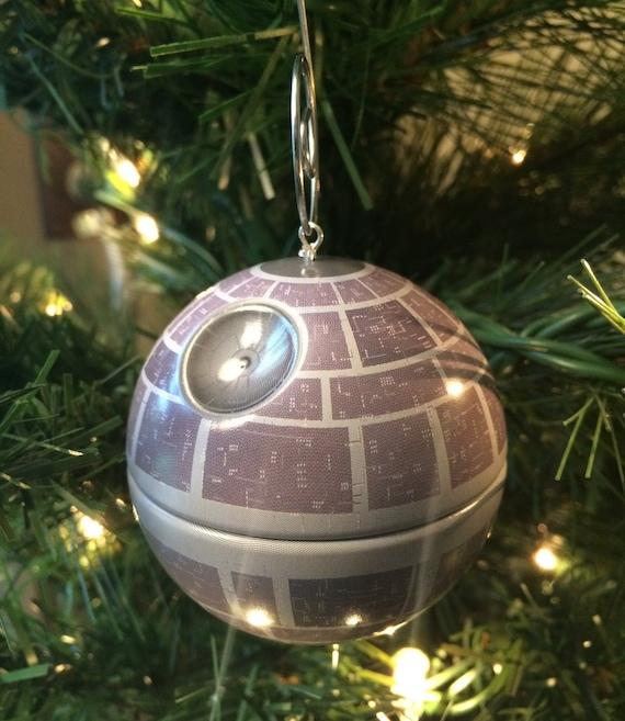 Items Similar To Star Wars Ornament, Death Star Christmas