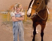 Custom Portraits in Oil, Pencil Pastel, Watercolor, from Your Photos People, Travel, Pets, Heirlooms, Family Treasures, Personalized Picture