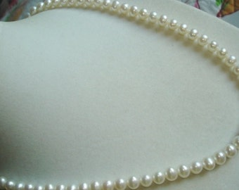Fresh Water Pearl 18 Inch Strand Necklace