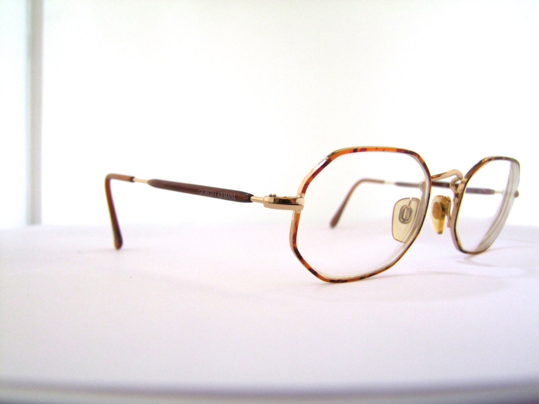 Vintage Armani Glasses Frames : Giorgio Armani Sunglasses // Vintage Designer Frames // 30s
