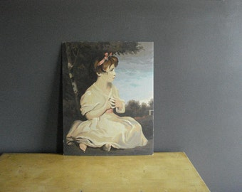 Gorgeous Paint By Number - Vintage Age of Innocence Painting Joshua Reynolds - Young Girl PBN