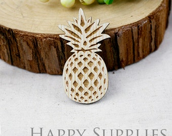 2Pcs Large Handmade Lovely Pineapple Charms / Pendants (LC005)