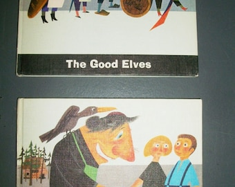 2 Hardcover Fairy Tales Hansel and Gretel and The Good Elves by McGraw Hill