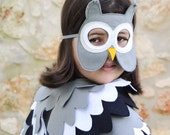 Owl Mask for Children, Halloween  Animal Kids Mask,  Dress up Costume Accessory, Photo prop Pretend Play Toy for Girls Boys, Toddlers