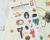Russian Doll Artbox My LITTLE FRIENDS embossed deco stickers