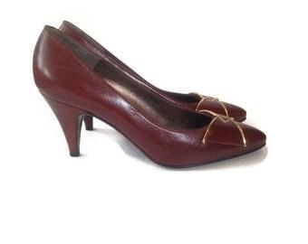 Vintage bruno magli shoes, Magli heels italy ,size 7 1/2 AA