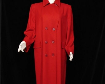 Coat - PENDLETON - Red Wool - Circa 1970's
