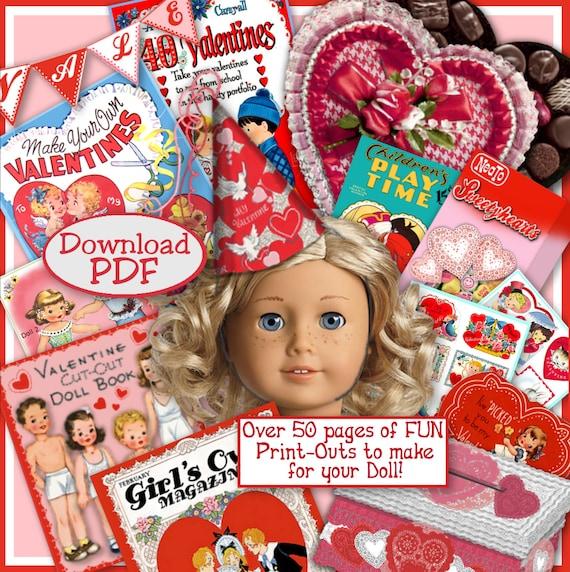 18 inch Doll Valentine Printables