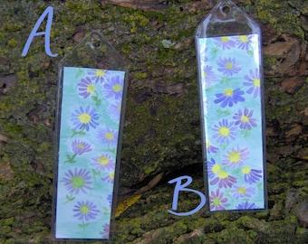 Little Purple Flower Bookmarks