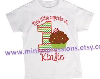 This little cupcake Birthday Shirt