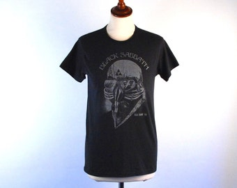ORIGINAL Black Sabbath 1978 US Tour T-Shirt, PERFECT Condition, Size Medium, 50/50 Polester/Cotton Blend