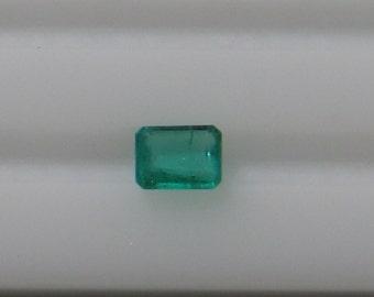 Emerald - 0.45 Carat - Rich Emerald Green Color  -  Good Clarity -  Good native Cut - Good Quality