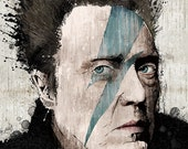 "Christopher Walken's ""Sleepwalking"" - 12x18 Officially Signed, Dated and Hand-Stamped Art Print"
