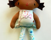 Sarah Jane Wee Wander doll 12 inch biracial brown boutique