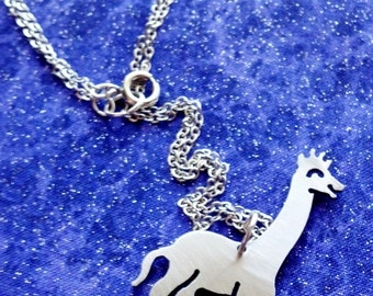 Giraffe Charm Necklace Key Chain or Pendant