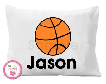 Basketball Pillow Case , Personalized Pillow Case
