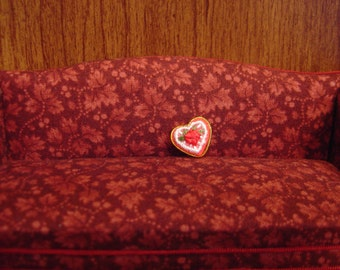 Dollhouse Miniature Valentines Day Box of Chocolates One Twelfth Scale