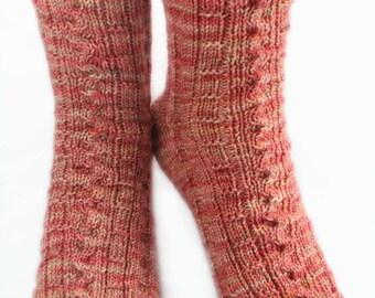KNITTING PATTERN for BoardGame Socks
