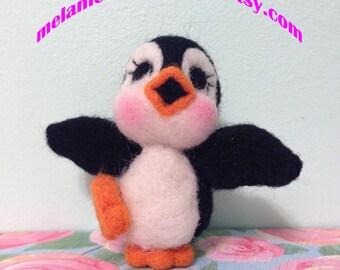 Felted Dancing Penguin