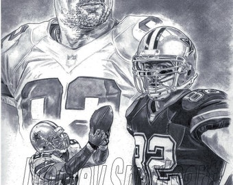 Jason Witten Dallas Cowboys Poster ART