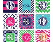 Monogrammed Golf Bag Tags, Luggage Tags, Backpack Tags