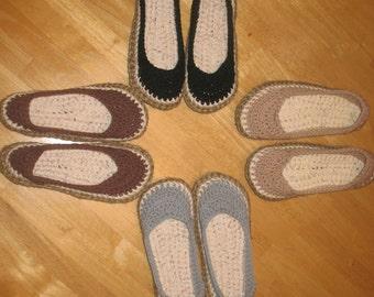 Crochet Shoes Womens
