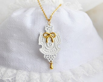 "The ""C"" - SD golden pendant"