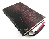 Shadow Plum, Leather Journal, Bookbinding, Libro, Journal, Books, Sketch Book, Leather Bound, Ledger