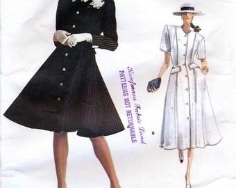 Vogue American Designer 2016 by Oscar de la Renta Misses' Dress Sewing Pattern - Uncut - Size 12, 14, 16
